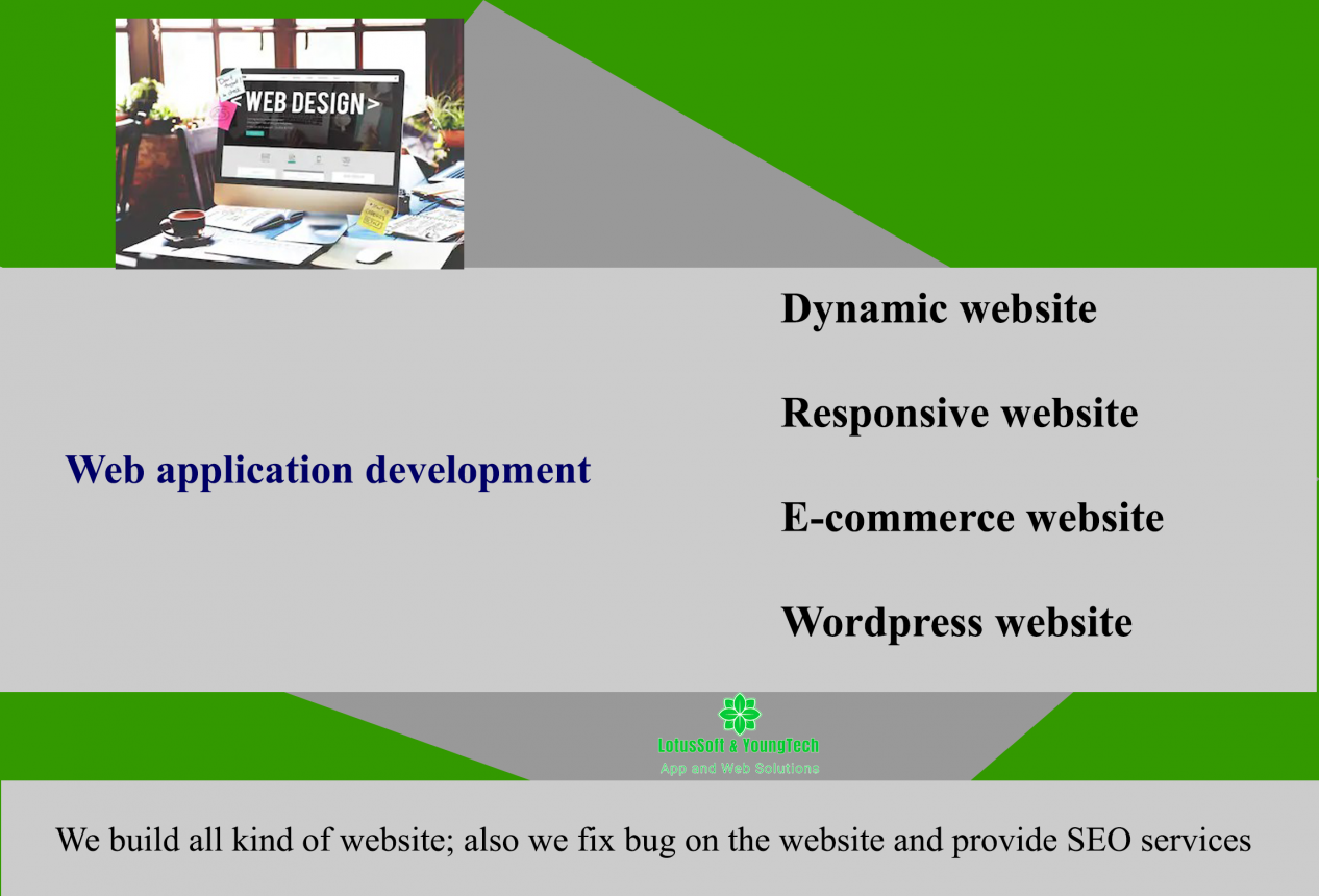 Web application and Website development company in Nepal