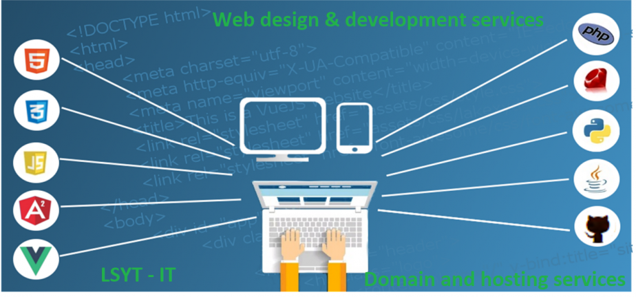 Domain registration and Hosting Services